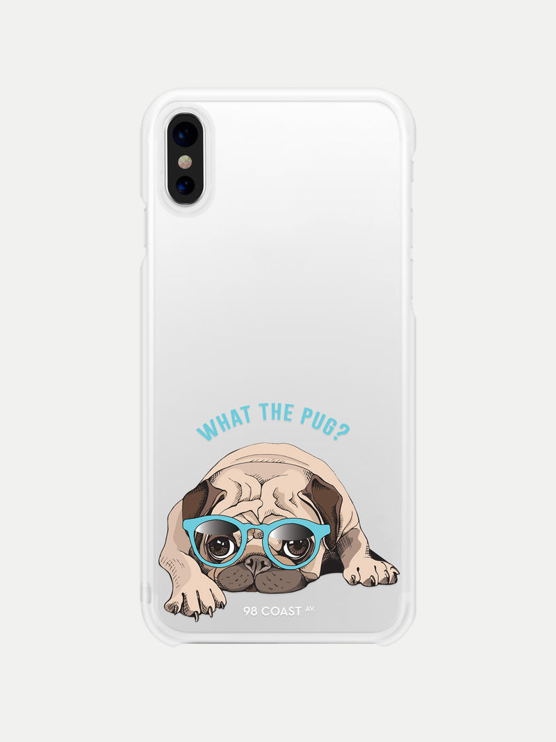 Funda para Celular What the Pug - Funda Personalizada iPhone Accesorios para Celulares