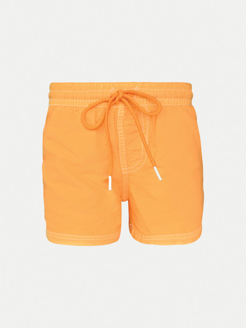 Traje de Baño Niño - Short Solid Orange - Playa Secado Rápido