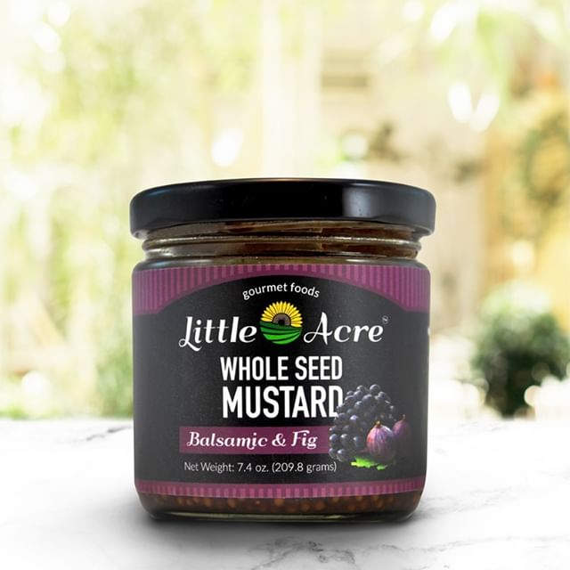 Balsamic & Fig Whole Seed Mustard