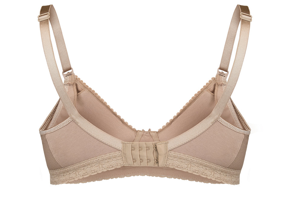 Maternity Bras that grow with you - Bra Materials Back