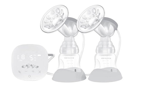 New Bloom double breast pump