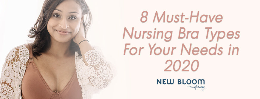 Nursing Bra Types For Your Needs in 2020
