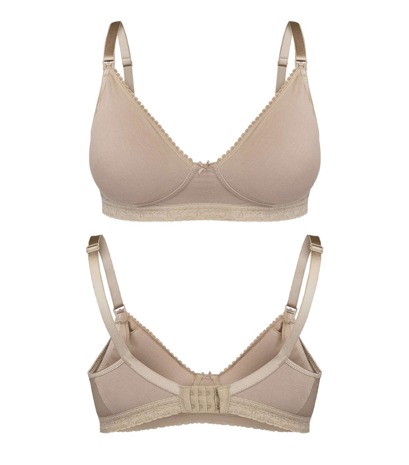 Drop-down Clasps Beautiful Maternity and Nursing Bra | New Bloom