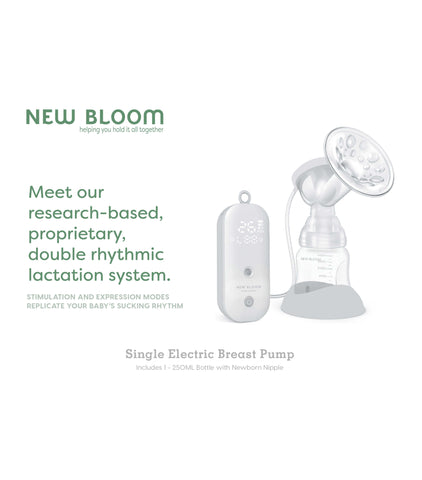 New Bloom Single Electric Breast Pump