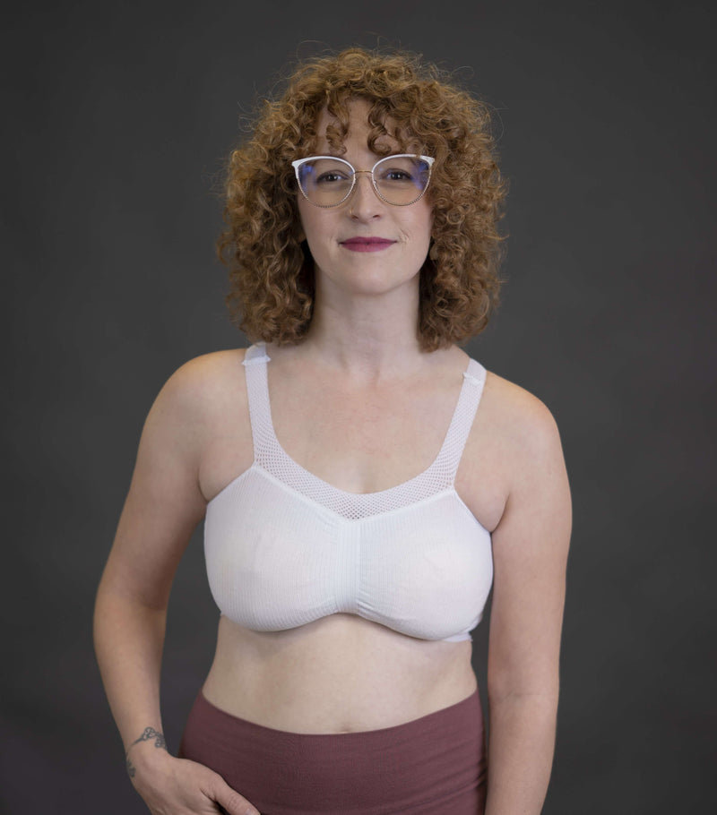 Ultra-breathable Pregnancy and Breastfeeding Sleeping Bra | New Bloom