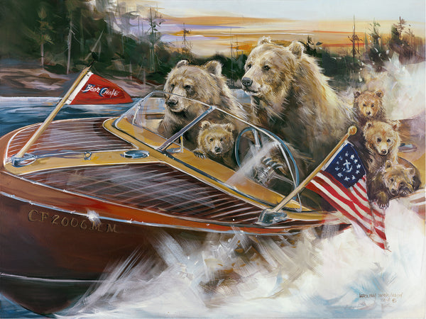 Bear Boating
