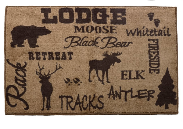 Lodge Bath Rug
