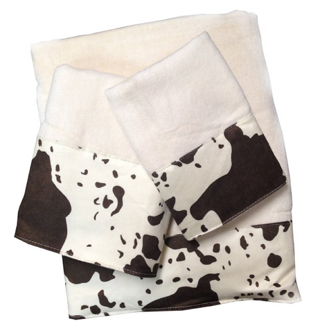 Cowhide Towel Set