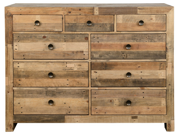 Aamia Brown 9 Dwr Dresser