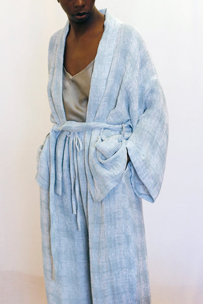 Sustainable Classic Kimono, Dead Stock Fabric Japanese,  Love Faustine