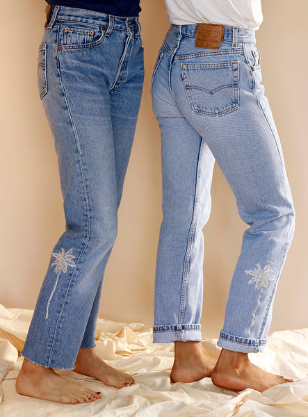 c220d48ae9b56 Embroidered Vintage Levi s Jeans – Love Faustine
