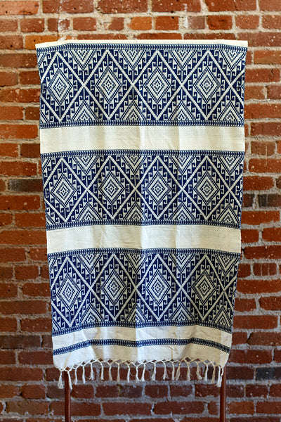 Chiang Mai Cotton Throw Blanket, Ethically Sourced, Thailand, Boho Blanket, Decorative Throw | Love Faustine