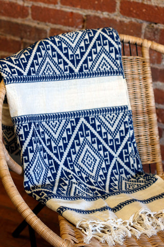 Chiang Mai Cotton Throw