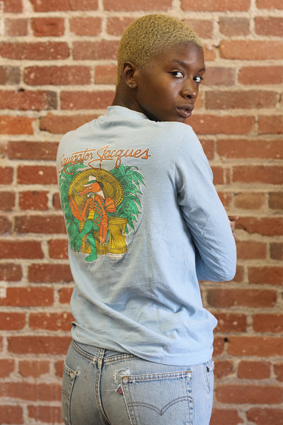 Vintage 80's Crawgator Long Sleeve Tee