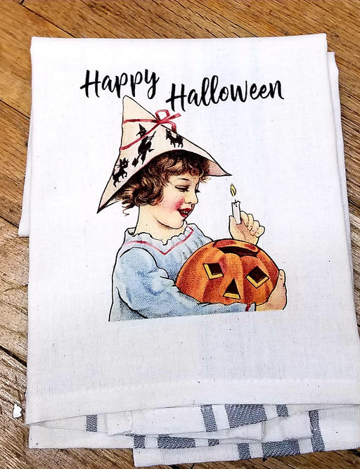 Happy Halloween Kitchen Towel