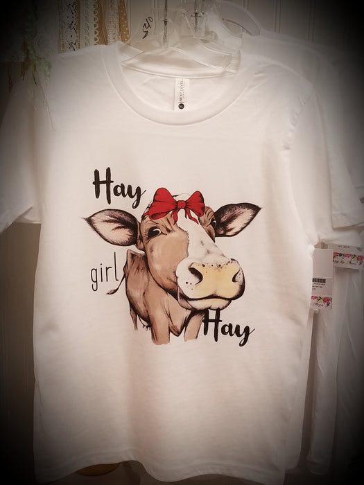 Hay Girl Hay Youth Tee-shirt
