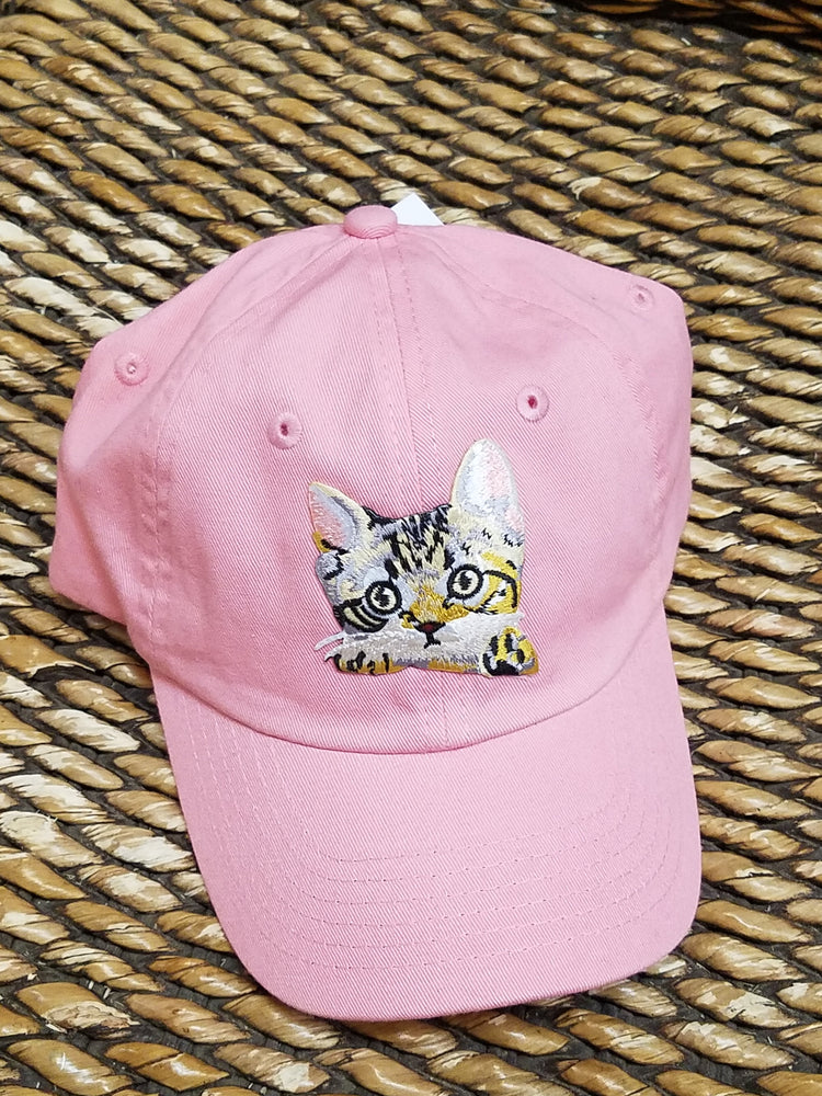 Kitten Cap Toddler Child Baseball Styled Hat