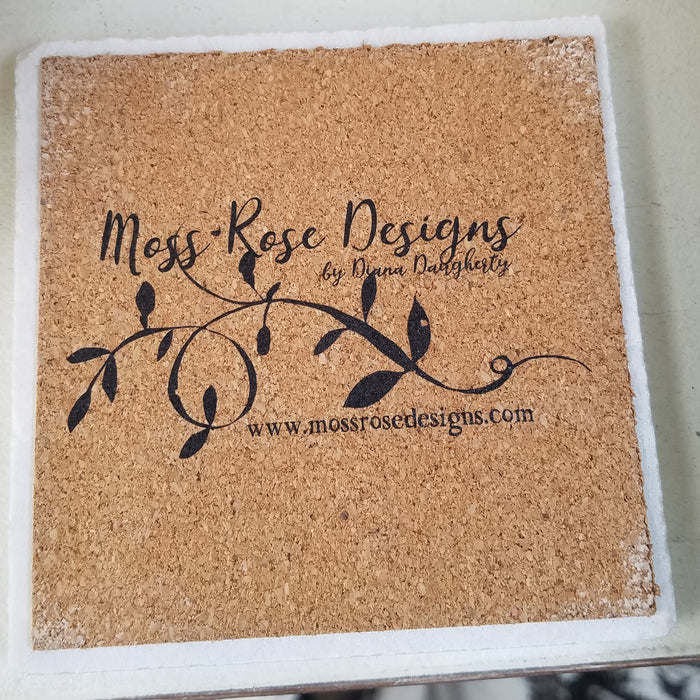 McKinney Texas Longitude and Latitude Marble Coaster