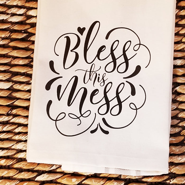 Bless This Mess Kitchen Towel