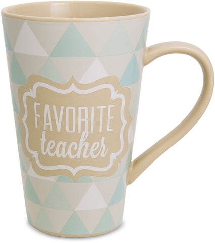 Favorite Teacher Latte Coffee Mug