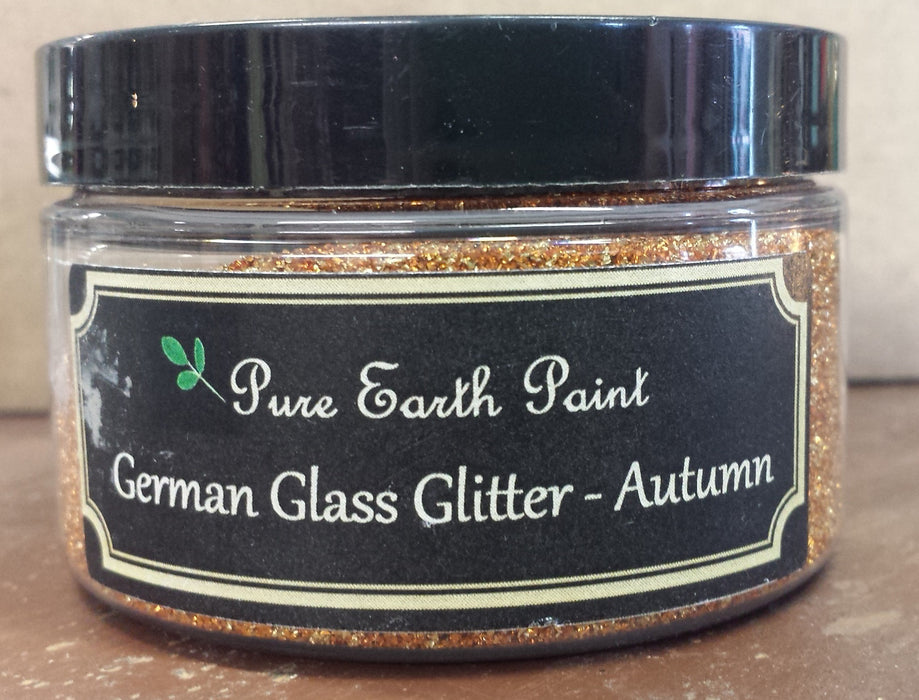 German Glass Glitter in Autumn from Pure Earth Paint