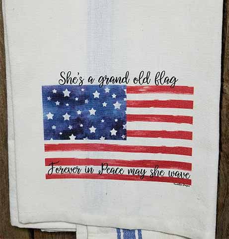 It's A Grand Ol' Flag Kitchen Towel
