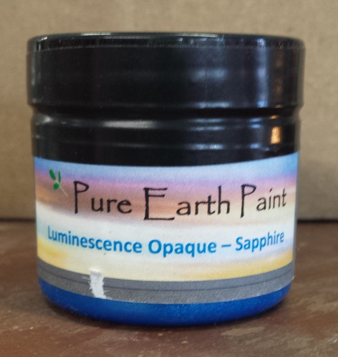 Sapphire Opaque Luminescence Pure Earth Paint