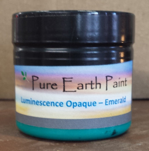 Emerald Opaque Luminescence Pure Earth Paint