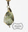 Serpentine Druzy Beaded Charm in Bronze