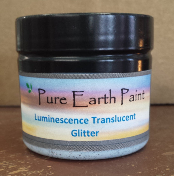 Glitter Translucent Luminescence Pure Earth Paint