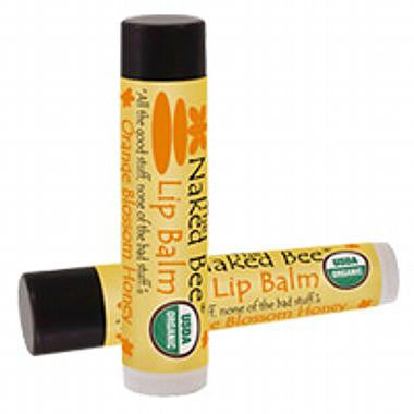 Naked Bee Lip Balm Orange Blossom Honey