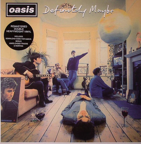 Definitely Maybe. OASIS Vinilo