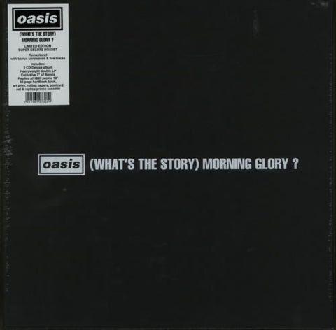 What's The Story Morning Glory?. Oasis (Caja de lujo. Ed Limitada)