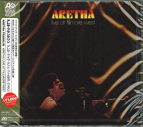 Aretha Franklin ‎– Aretha Live At Fillmore West (Ed. japonesa) - CD