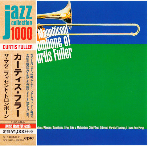 Curtis Fuller ‎– The Magnificent Trombone Of Curtis Fuller (Ed japonesa)