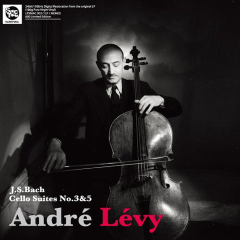 André Levy- Bach Cello Suites Nos. 3 & 5 Numbered Limited Edition 180g (Ed. Japonesa)