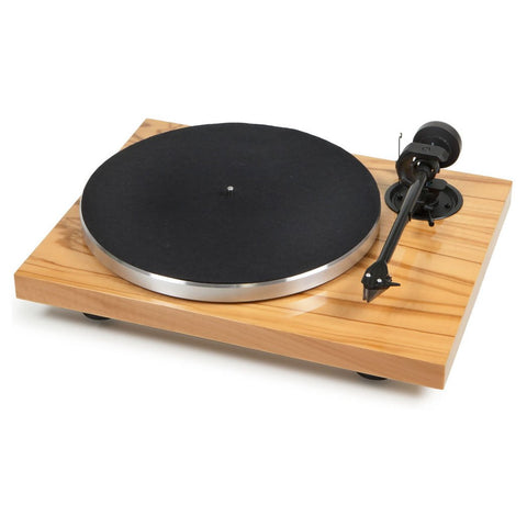 1Xpression Classic Pro-Ject. (acabado Madera Olivo) Incluye cápsula Ortofon 2M Red