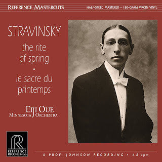 Stravinsky, Eiji Oue, Minnesota Orchestra ‎– The Rite of Spring