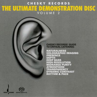 Chesky Records THE ULTIMATE DEMONSTRATION DISC Vol 2