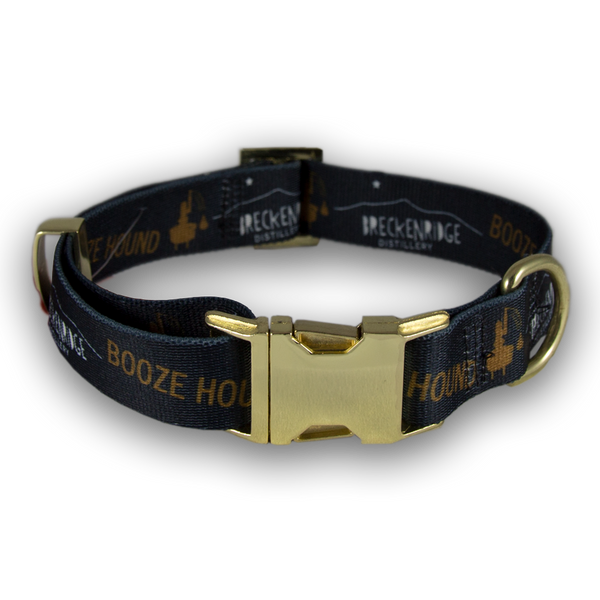 """Booze Hound"" Dog Collar"