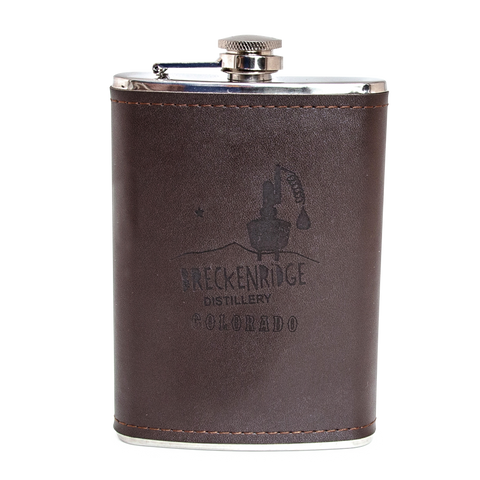 Flask Leather - Tall
