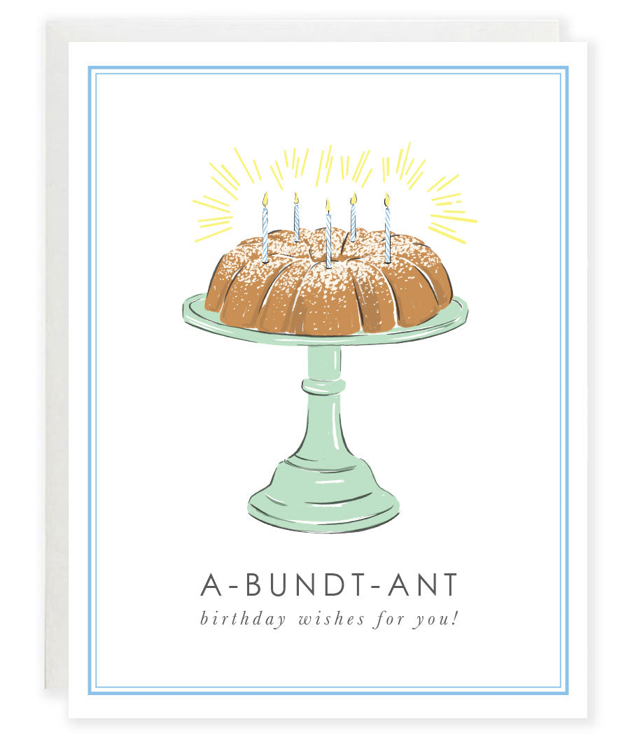 A-bundt-ant Birthday Wishes