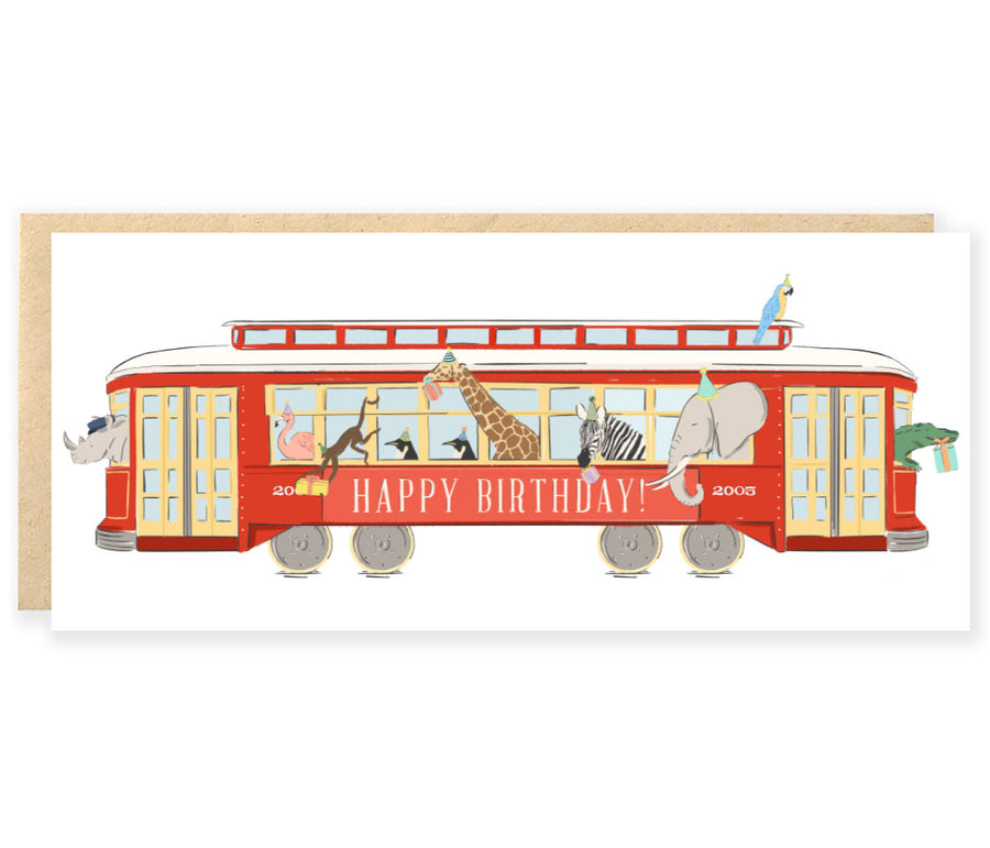 Party Animal Streetcar Birthday