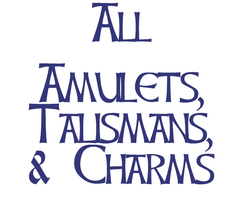 All Charms, Pendants, and Talismans