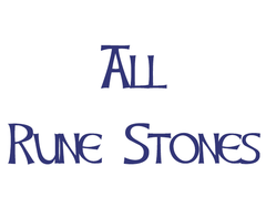 All Rune Stones for Divination