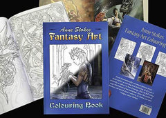 Anne Stokes Fantasy Coloring Book