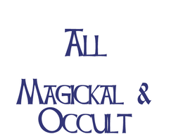 All Magickal & Occult Products