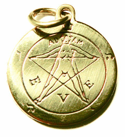 SCA101 - Pentacle of Eden Charm for Winning a Lover's Heart (Star Charms) at Enchanted Jewelry & Gifts
