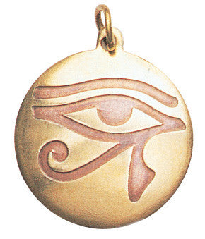 (Product Code: SCA98) Eye of Horus Charm for Health, Strength, & Vigour, Star Charms - EnchantedJewelry