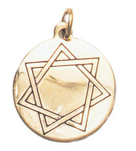 SCA99-Heptagram, Mystic Star Charm for Harmony in Love & Friendship (Star Charms) at Enchanted Jewelry & Gifts